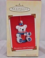 Hallmark Keepsake Ornament Bearing The Colors 2003