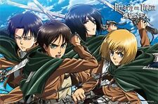 ATTACK ON TITAN - SWORDS VIDEO GAME POSTER - 22x34 MANGA 14017