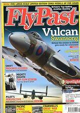Flypast 2013 February Vulcan,Spitfire.B-25,Percival
