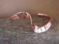 Native American Indian Jewelry Copper Bracelet by Skeets!