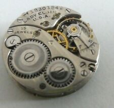 Lady Elgin Grade 404 pocket watch movement for parts 21,25 mm (x83)