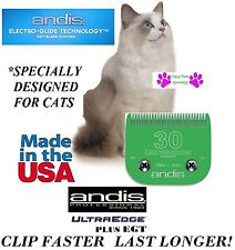 Andis Lame EGT + Plus Chat #30 Blade convient à AG / BG, OSTER A5 A6,