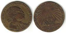Münze Medaille Jeton Max Joseph König von Bayern Messing