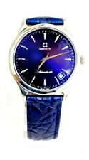 ZENITH ELITE Automatic 670 BLU BLUE RAR Ø 36mm ACCIAIO UOMO ref 90/01.0040 .670