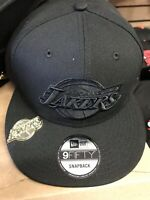 New Era Los Angeles Lakers Duel Logo Metal Badge Snapback Hat