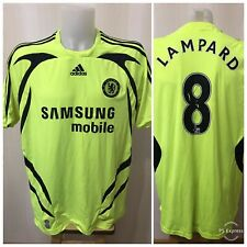 Chelsea London #8 Lampard 2007/2008 Away XL Adidas football jersey shirt soccer