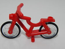 Lego Red Bicycle, Complete Assembly