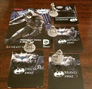 Knight Models Batman Dark Knight Miniatures Game - Gordon & Swat Team Gotham PD