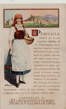 #PERUGIA: COSTUME- PUBBLICITARIA ASPIRINA BAYER