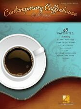 Contemporary Coffeehouse Songs Learn to Play Piano Guitar Vocals Music Book