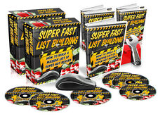 Super Fast List Building- Video Tutorials on 1 CD