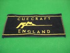 Cue Craft Towel for snooker pool cues