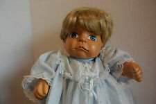 """16"""" WOOD BABY DOLL!  UNMARKED!"""