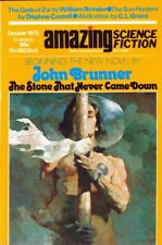 AMAZING SCIENCE FICTION Magazine, October 1973. 130-Pages. Free UK Postage