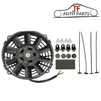 "7"" Inch 12V Universal Electric Pull / Push Radiator Cooling Fan & Mounting Kits"