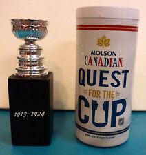 Molson Canadian 1913-1924 replica NHL stanley cup * MINI TROPHY with BOX hockey