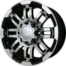 18 Vision Warrior Black Machined Wheels Rims 6x135 Ford F-150 6 Lug Truck