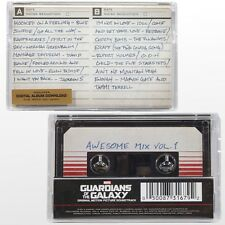 Guardians Of The Galaxy: Awesome Mix Vol. 1 (MOVIE SOUNDTRACK) New Cassette Tape