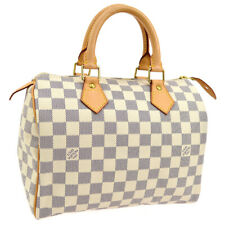 LOUIS VUITTON SPEEDY 25 HAND BAG PURSE DAMIER AZUR N41534 SP0057 AK42782