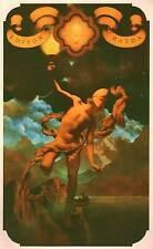 """Vintage Maxfield Parrish cartel impresión """"Prometeo"""""""