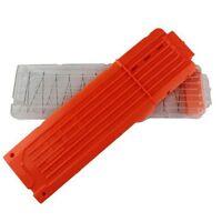 18 Darts Orange Replacement Ammo Clip Magazine for Nerf N-Strike Elite Toy Gun J