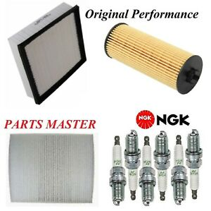 Tune Up Kit Filters Spark Plugs For JEEP GRAND CHEROKEE V6; 3.6L 2011-2013