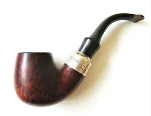 Peterson´s Premier System Smooth (314) P-Lip - Bruyere Pfeife & 925 Silber Ring