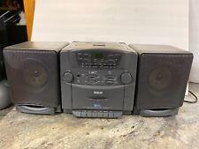 Vtg RCA CD Tape Player Cassette Boombox RP-7975 Ghetto Blaster