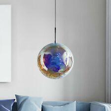 1-Light Globe Pendant Dichroic Glass.181105 Contemporary Design. Brand New. E27
