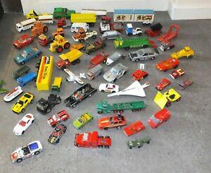 Large Collection of MATCHBOX Dinky & Corgi etc Joblot Cars Vans Diecast Bundle