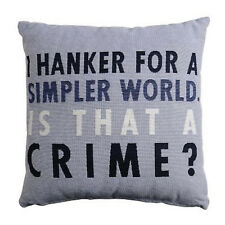 PAST TIMES DOWNTON ABBEY: A SIMPLER WORLD CUSHION