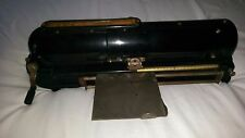 1914 Todd Protectograph Co Antique Check Writer Printer Machine FREE SHIPPING!