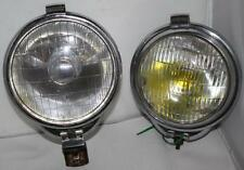 A Pair of Vintage RAYDYOT Spot Lights/ Fog Light BMC MORIS MG -FREE P&P [PL1015]