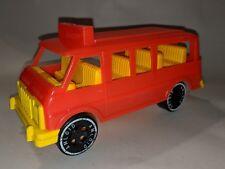 Amloid Vintage Plastic Emergency Van 1970s Early Generation Van Cool!