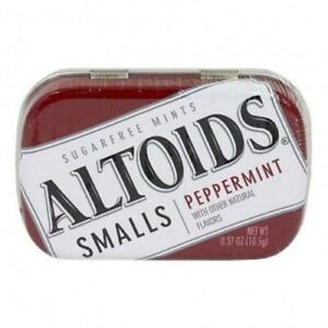 Altoids Smalls Sugar Free Mints 50 Pc Peppermint Choose