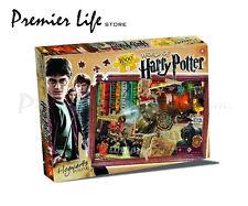 Winning Moves Harry Potter Hogwarts 1000pc Jigsaw Puzzle