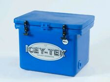 "**DROP PRICE**Icey-Tek cooler 40Qt Ocean Blue L22W17.5H17""FREE SHIP"