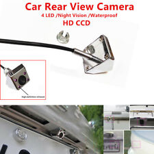 Car Parking Rear View Camera 4 LED Night Vision Waterproof HD CCD Wire 170° 1PCS