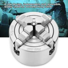 SANOU K72-100 Mandrino Indipendenti Reversibile Per Tornio 4 Griffe ø 100mm - IT