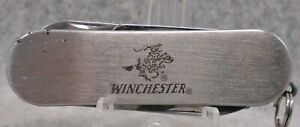 Winchester advertising Multi Tool Pocket Knife / Nail File / Scissors HTF LQQK