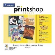 Broderbund PrintShop Select 15 Pc Brand New Cd Rom Sealed In Paper Sleeve XP