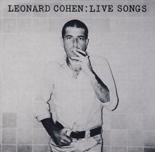 Leonard Cohen – Live Songs / SONY RECODS CD