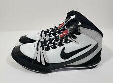 Nike Freek Mens Wrestling Shoes White Black Size 8.5