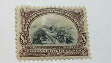 Us Scott 298-1901 8 Cent Pan American Issue-Brown Violet & Black-M/H/Og-Cv$150.0