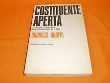 guiducci-onofri le nuove frontiere del socialismo in italia vallecchi 1966