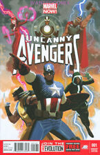 UNCANNY AVENGERS 1 ACUNA 1:50 VARIANT COVER 2012 MARVEL COMIC BOOK WOLVERINE NEW