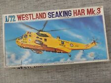 FUJIMI 7A31  WESTLAND SEAKING HAR MK.3 RESCUE HELICOPTER  1/72 SCALE MODEL KIT