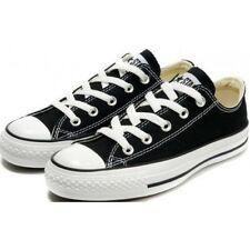 Converse All Stars Low Top Black White Men's Women's Shoes Sizes UK 8 EU 41.5