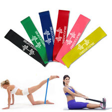 6 Level Resistance Bands Loop Bands Exercise Bands Fitness Yoga Full Set of 6