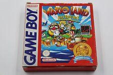 NINTENDO GAME BOY WARIO LAND SUPER MARIO LAND 3 CLASSICS COMPLETO PAL ESPAÑA